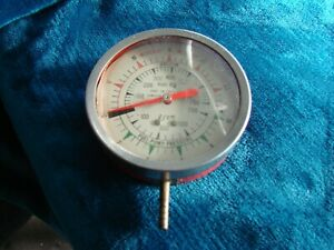 Vintage Snap On Tools Vacuum Fuel Pump Pressure Gauge
