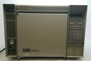 Hp Agilent 5890a Series Ii Gas Chromatograph Gc With Comp Software Manuals