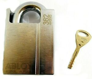 Abloy Different keyed Military Grade Shrouded Padlock 2 53 64 Pl362b kd