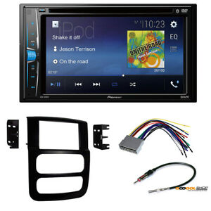 Pioneer Double Din Car Radio Stereo Install Dash Kit For 2003 Dodge Ram 1500