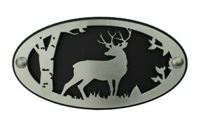 Deer Hitch Cover Gift For Dad Buck In Woods Deer Decal Truck Accessories