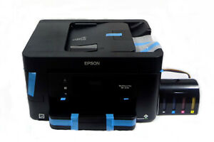Epson Workforce 3720 Bundled With Sublimation Ink Chipless Ciss No Reset Needed