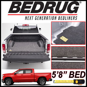 Bedrug Classic Bed Mat Truck Liner For 2019 20 Silverado 1500 W 5 Ft 8 In Bed
