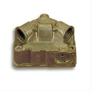 Holley 134 102 Fuel Bowl Secondary Center Hung Dichromate Holley 4150 4160 Ea