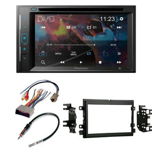 Pioneer 6 2 Double Din Radio Stereo Dash Install Kit For 2005 2009 Ford Mustang