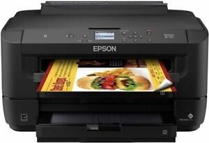 New Epson Workforce 7710 Bundled With Sublimation Ink Ciss