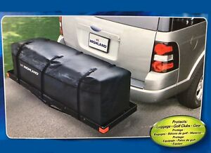 Hitch Storage Cargo Bag Travel Luggage Carrier Car Truck Trailer Rack Waterproof