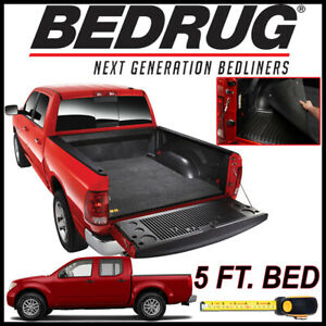 Bedrug Classic Bed Mat Liner For 2005 2019 Nissan Frontier With 5 Ft Bed