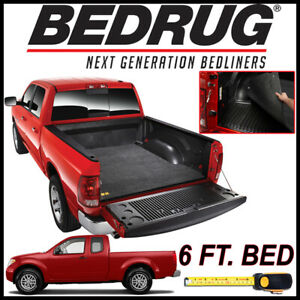 Bedrug Classic Bed Mat Liner For 2005 2019 Nissan Frontier With 6 Ft Bed