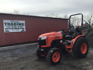2019 Kubota B3350su 4x4 Hydro Compact Tractor W Loader Valve Only 8 Hours
