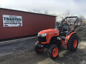 2019 Kubota B3350su 4x4 Hydro Compact Tractor W Loader Valve Only 10 Hours