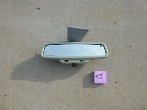 1996 1997 Mercedes benz W210 E class Oem Rear View Mirror 2 Plugs Grey 528