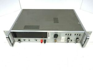 Hp 5326b Timer counter dvm With 7 Digit Nixie Tube Display