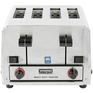 Waring Wct850 Heavy Duty Commercial Combination Switchable Toaster