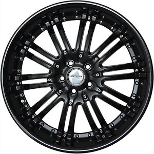 4 G22 Narsis 20x10 Inch Black Rims Fits Ford Crown Victoria 2003 2011