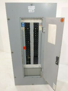 Westinghouse Prl1 225 Amps Panelboard With Breakers 208 120 Volt 3 Phase 4 Wire
