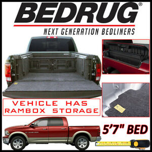 Bedrug Classic Bed Mat Truck Liner Fits 2009 2019 Ram 1500 W 5 7 Bed Rambox