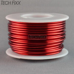 Magnet Wire 12 Gauge Awg Enameled Copper 25 Feet Coil Winding And Crafts Red
