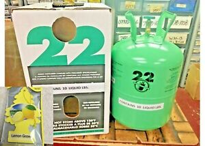 R22 Refrigerant 10lb Cylinder Virgin Pure made In Usa Free Shipping Kit 0413