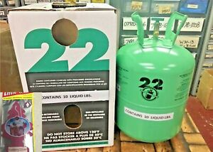 R22 Refrigerant 10lb Cylinder Virgin Pure made In Usa Free Shipping Kit 0416