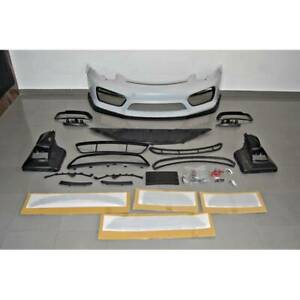Porsche Cayman Boxster Gt4 Style Front Bumper Body Kit 2013 2016