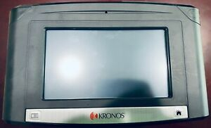 Kronos 8609100 003 Intouch 9100 Time Clock Touch Id