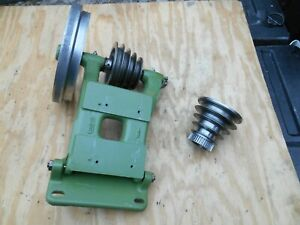 South Bend 9 10k Lathe Headstock 4 Step V Belt Pulley And Countershaft Assembly