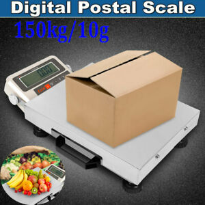 150kg Digital Shipping Postal Scale Electronic Weight Bench Scales 110v 240v Usa