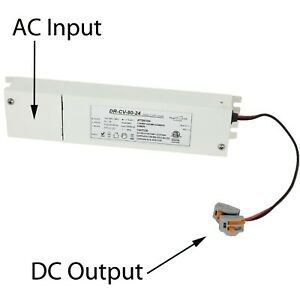 24v Triac Dimmable Power Supply Driver 80w For Led Light Junction Box Build in