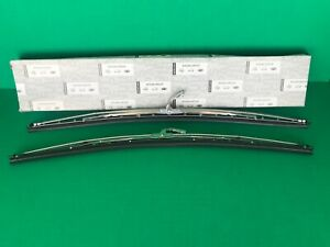 Datsun 240z 260z 280z 1969 76 New Oem Windshield Wiper Blade Set wire Blades