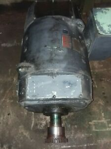 General Electric 150 Hp Dc Motor 500 Volts 238 Amps 1150 2000 Rpm Co506at Fr