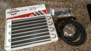 4l60e Th400 Th350 200r4 4l80e Transmission Cooler Custom Made An Hoses Lines