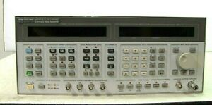 Hp 8664a Synthesized Signal Generator 0 1 3000 Mhz Opt 004 008 Good Working