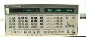 Hp 8664a Synthesized Signal Generator 0 1 3000 Mhz Option 004 008 Works Well