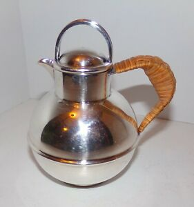 Barker Brothers Silver Plate Individual 1 Pint Kettle Teapot Guernsey Jug