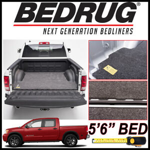 Bedrug Classic Bed Mat Liner Fits 2004 2015 Nissan Titan With 5 Ft 6 In Bed