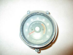 Factory 1968 Pontiac Gto In Dash Tachometer Tach Gm Original