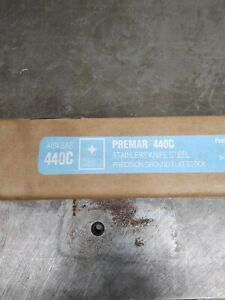 Premar 440c Stainless Steel Knife Making Stock Precision Ground 3 8 x 2 x 24