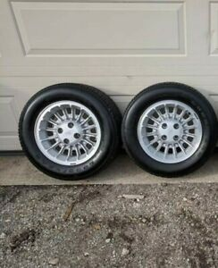 Ford Mustang Fox Foxbody Rims A Pair 2 W Bad Tires Pickup Only Socal San Diego