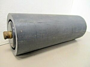 Poly Conveyor Troughing Idler Roller 4 Dia 10 3 8 Surface 3 4 Solid Shaft