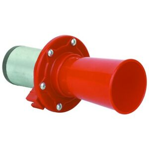 New Loud Ahooga Ooga Antique Vintage Classic Old Car Truck Air Horn 12v Red