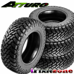 4 Atturo Trail Blade M t 35x12 50r20 121q 10pr All season Truck Mud Tires