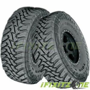 2 Toyo Open Country M t 33x12 50r20 114q E 10 Off road All Season Mud Tires