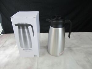 Thermal Coffee Dispenser Airpot Pourpot 1 9l Body Ss Liner Brew Thru Tall