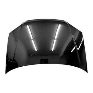 Vis Racing Carbon Fiber Hood Oem For 2004 2005 Honda Civic 2dr 4dr