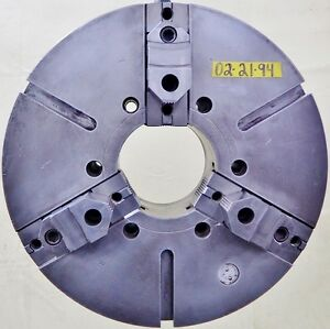 Warner Swasey 21 3 Jaw Lathe Chuck A2 11 Spindle Mount