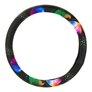 Pilot Automotive Butterfly Diamond Bling Steering Wheel Cover Swrx 0114