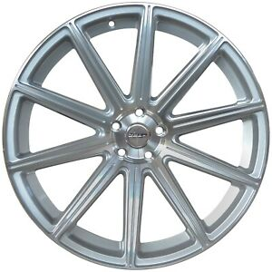 4 G42 20x10 Inch Silver Rims Fits Toyota Sienna Fwd 2011 2020