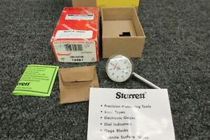 Starrett Back Plunger Dial Indicator 196b1 001 Military Precision Test Machine