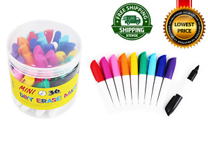36 pcs Mini Dry Erase Markers Whiteboard Pens 3 5 Office Products